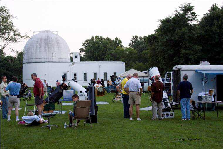 IAS Campout at Goethe Link Observatory
